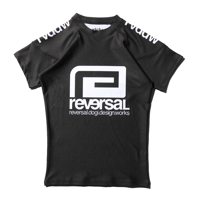 rvddw RASH GUARD  (半袖ラッシュガード) BLACK