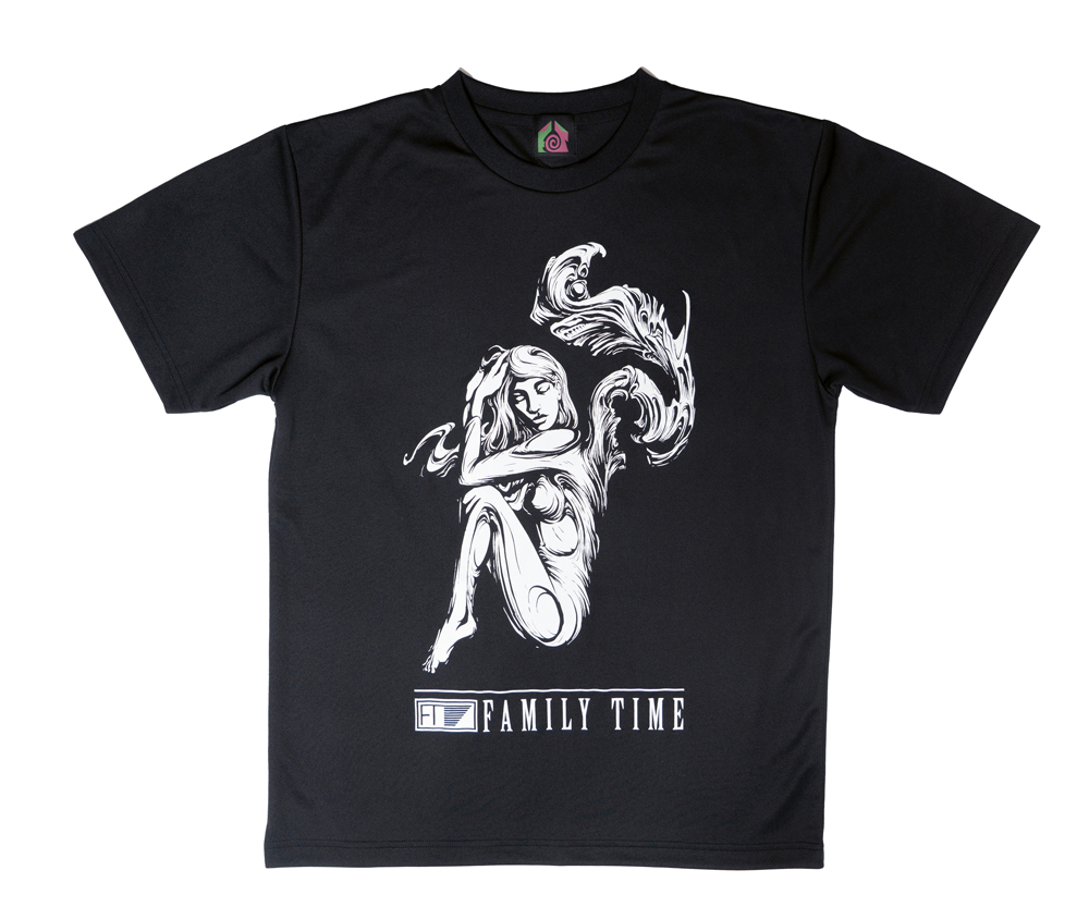 FAMILY TIME TRAINING DRY TEE 2003 BLACK