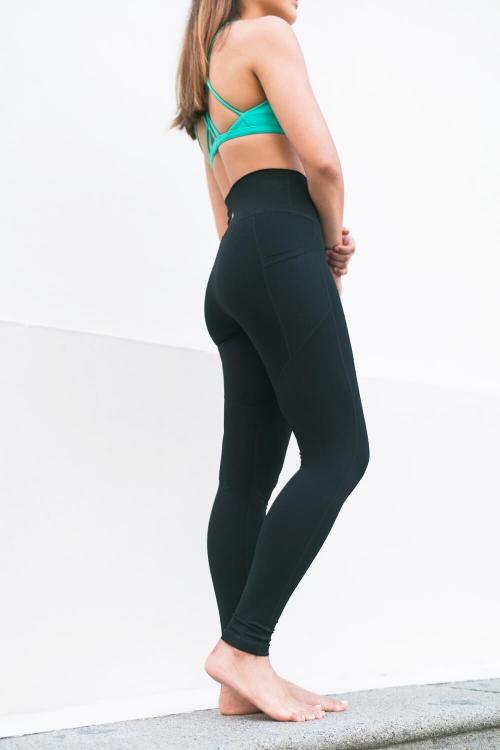FITTA Inspire High-Rise Legging In Sage black