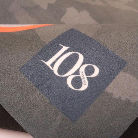 108Tokyo yoga ヨガマット 【カモフラグレー】108original