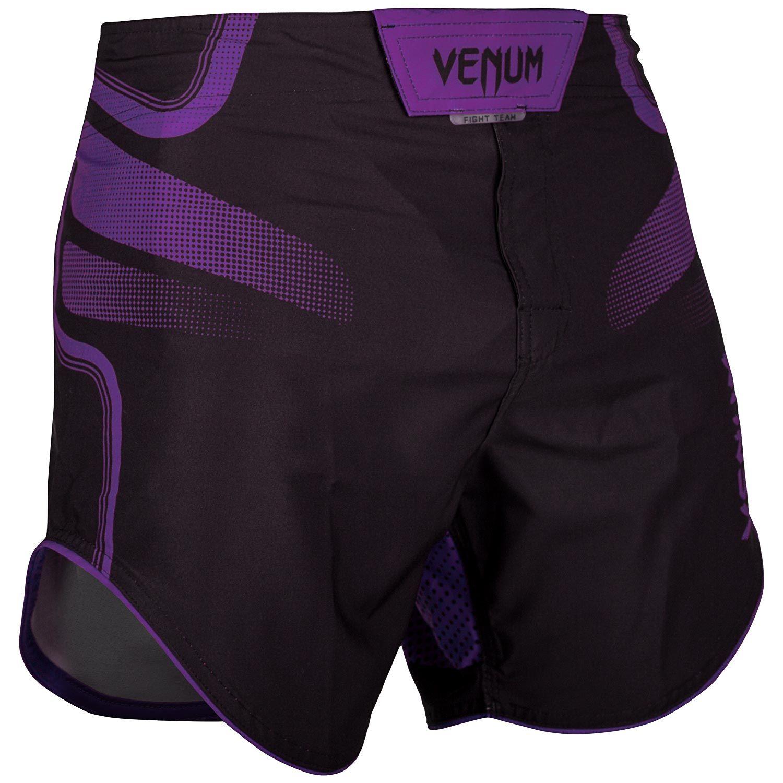 VENUM TEMPEST 2.0 FIGHTSHORTS - BLACK/PURPLE/ヴェヌム ファイトショーツ