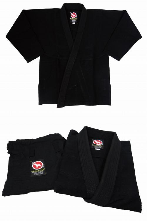 BULLTERRIER 柔術衣 ウルトラライトZero 黒