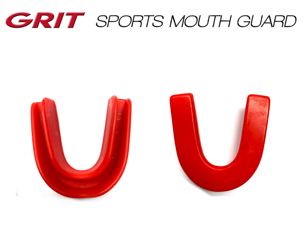 GRIT SPORTS MOUTH GUARD RED