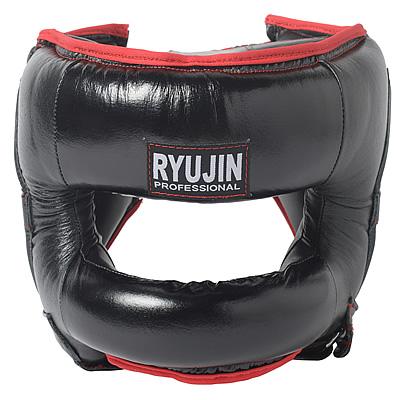 RYUJIN FULL FACE HEAD GUARD(本革製)