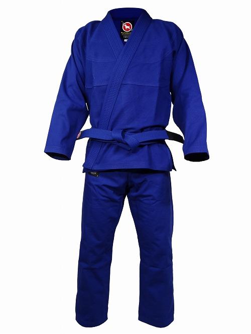 BULLTERRIER 柔術衣 ウルトラライトZero 青