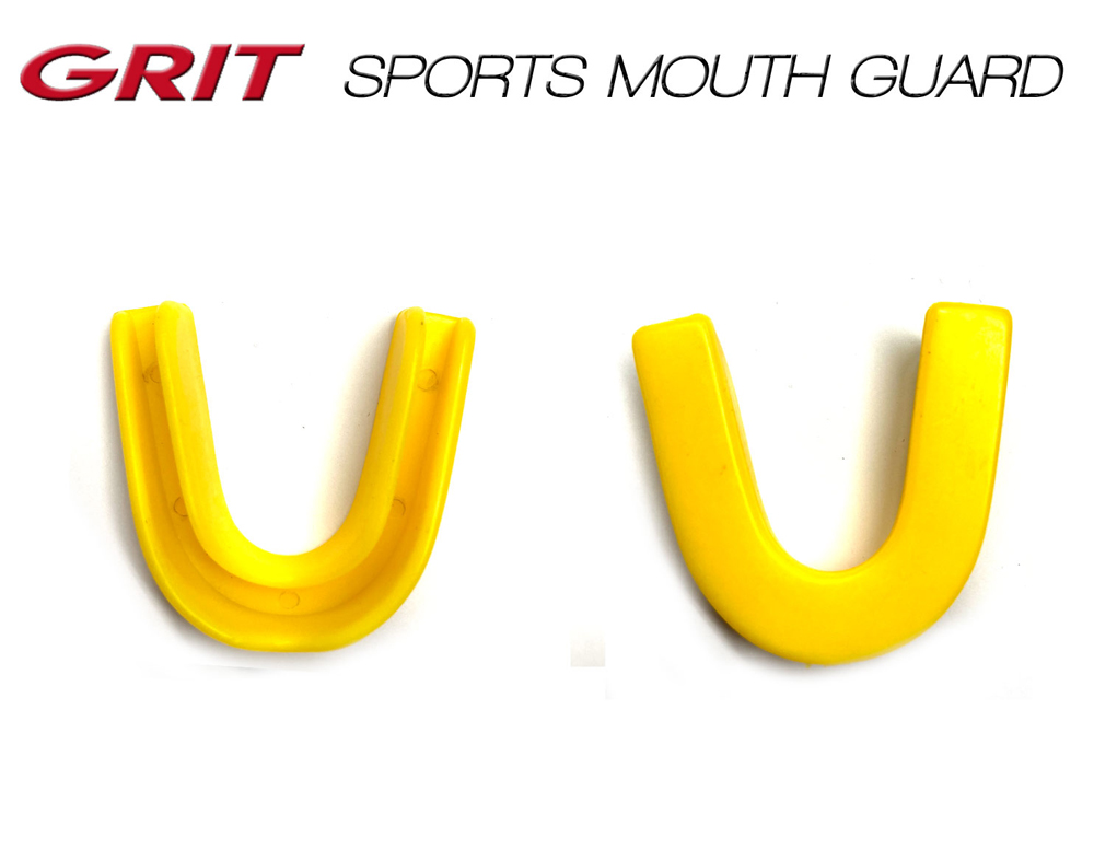 GRIT SPORTS MOUTH GUARD YELLOW