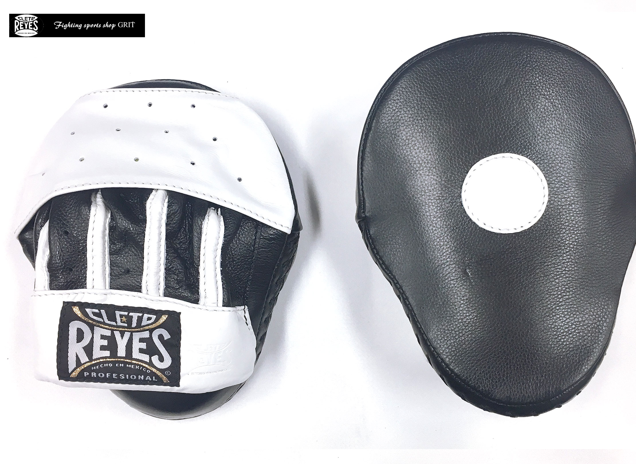 REYES CURVED PUNCH MITTS