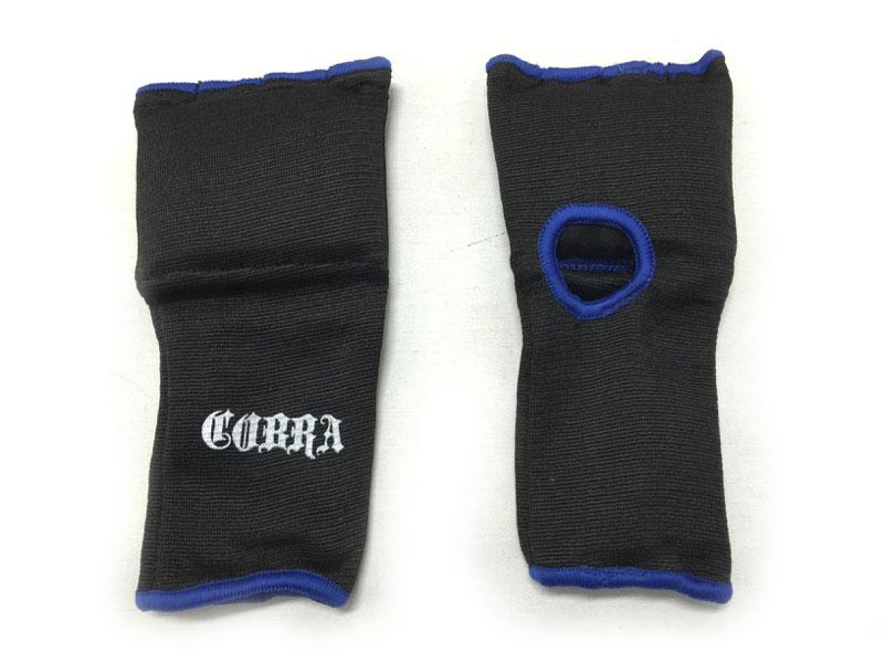 COBRA GEL INNNER GLOVE BLACK/BLUE LINE