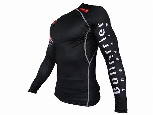 BULL TERRIER ラッシュガード Standard2.0 長袖 黒