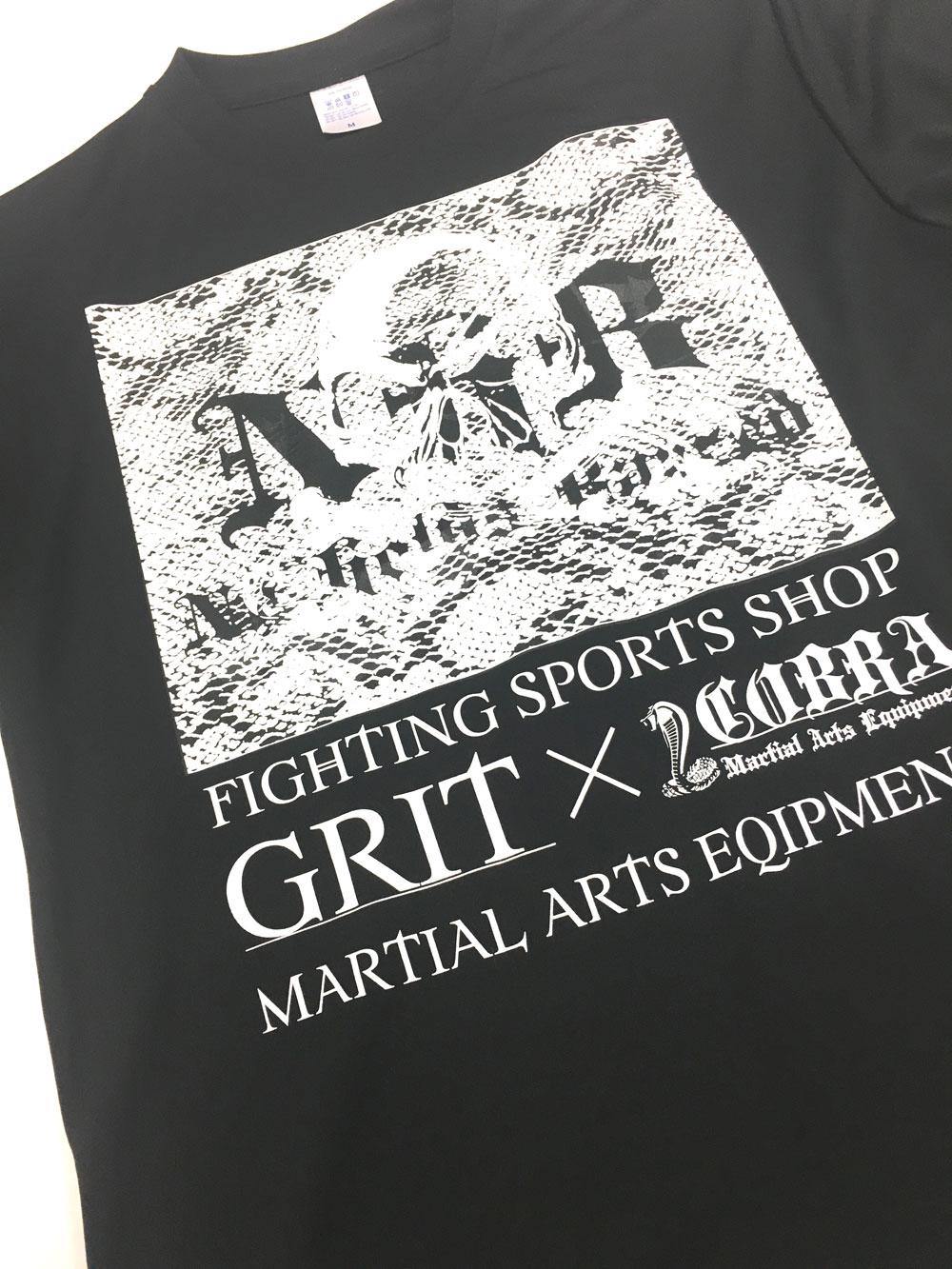 COBRA×GRIT FIGHT SHOP TRAINING DRY TEE 1906