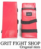 GRIT SQUARE KICK MITTS RED 1ヶ