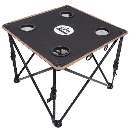 60/40クロス ロースタイルテーブル(BLACK)