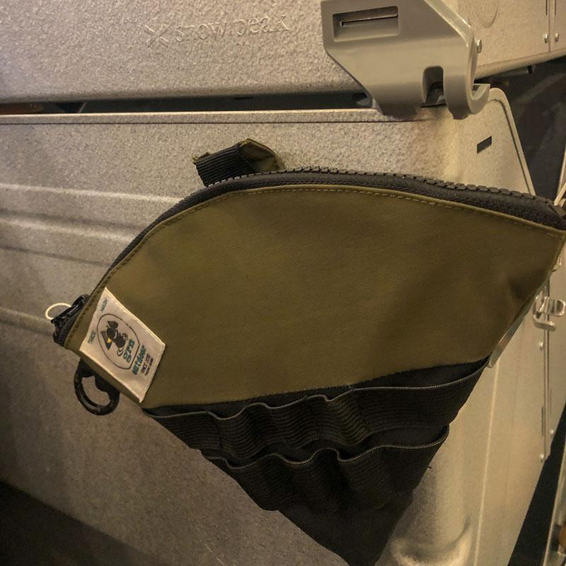 DRIP PAPER BAG(BLACK)