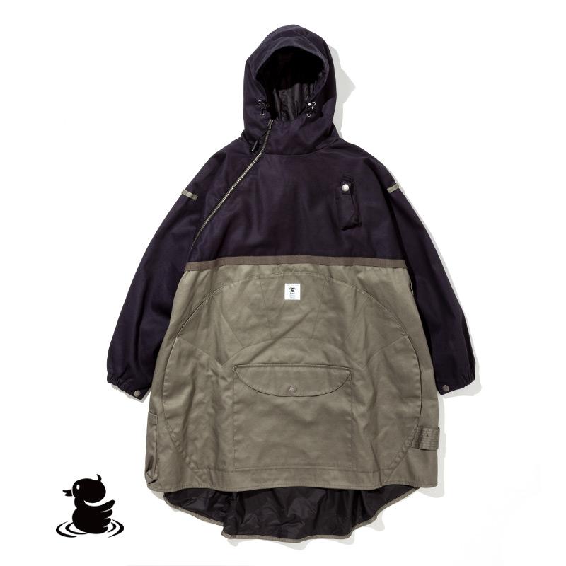 HIASOBI CAMPER PONCHO (BLACK)