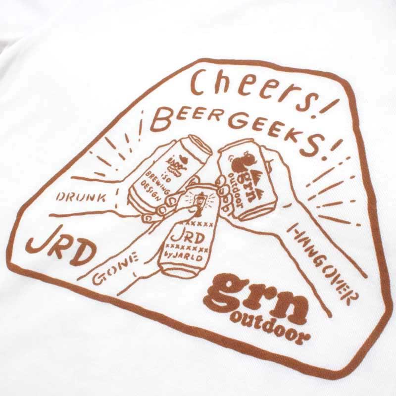 BEER GEEKS S/S TEE(WHITE)