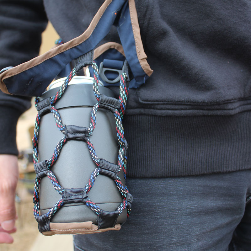 SPIDER CATCH BAG(BLACK)