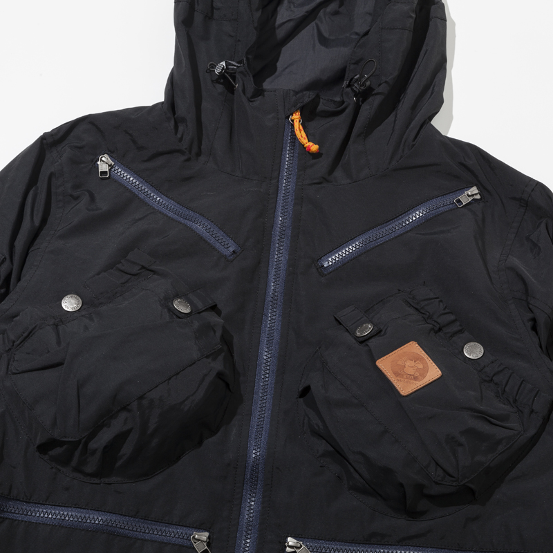 TEBURA MOUNTAIN PARKA21 (BLACK)