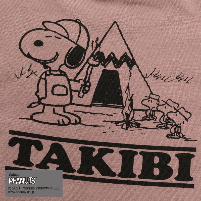 TAKIBI SNOOPY S/S TEE(PINK)