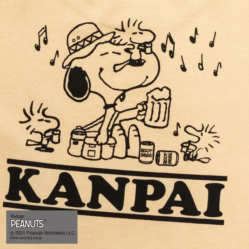 KANPAI SNOOPY S/S TEE(YELLOW)