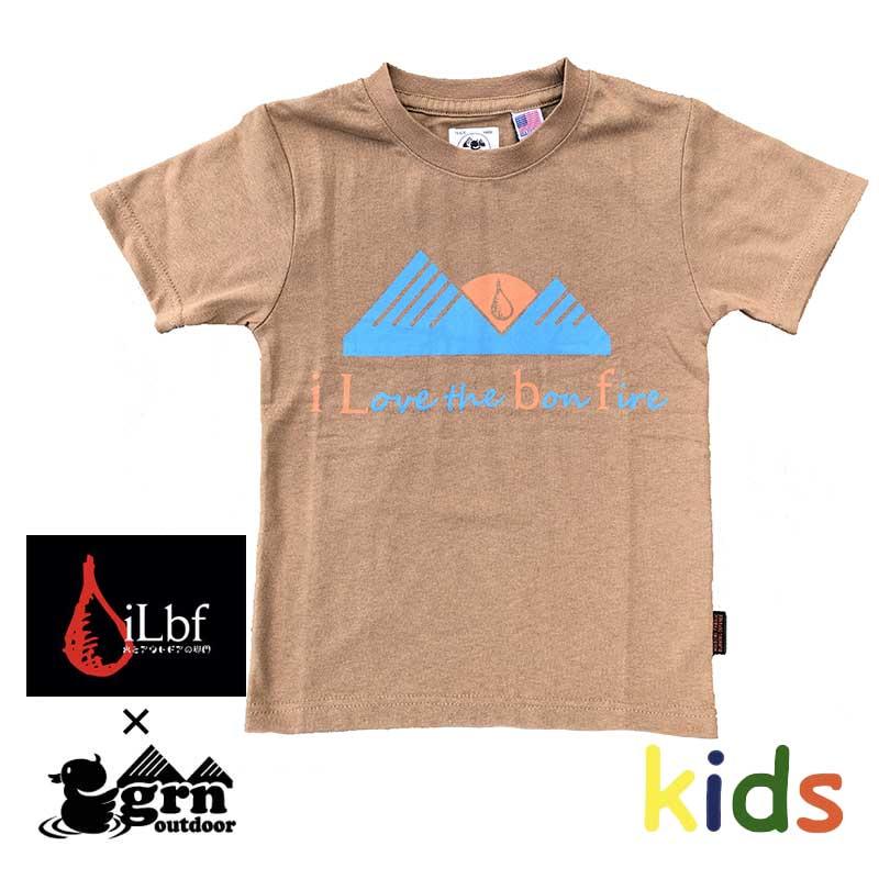 HIASOBI  ILBF CLB TEE(KIDS)(CAMEL)