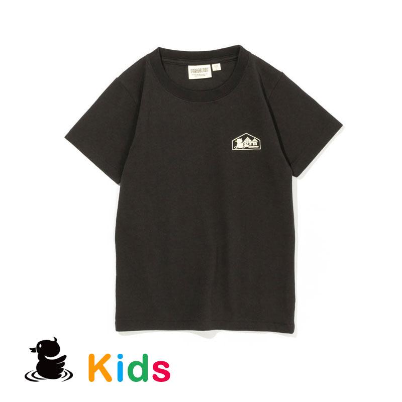 SOTOASOBI SNOOPY S/S TEE  (KIDS)  (SMOKE)