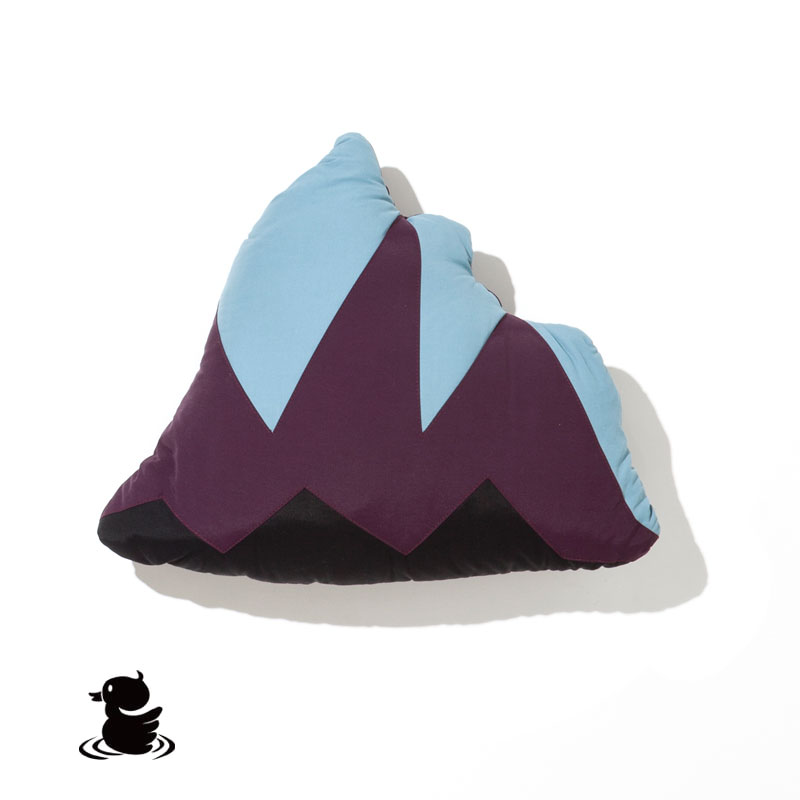 60/40 CUSHION BLANKET MOUNTAIN(BLACK)