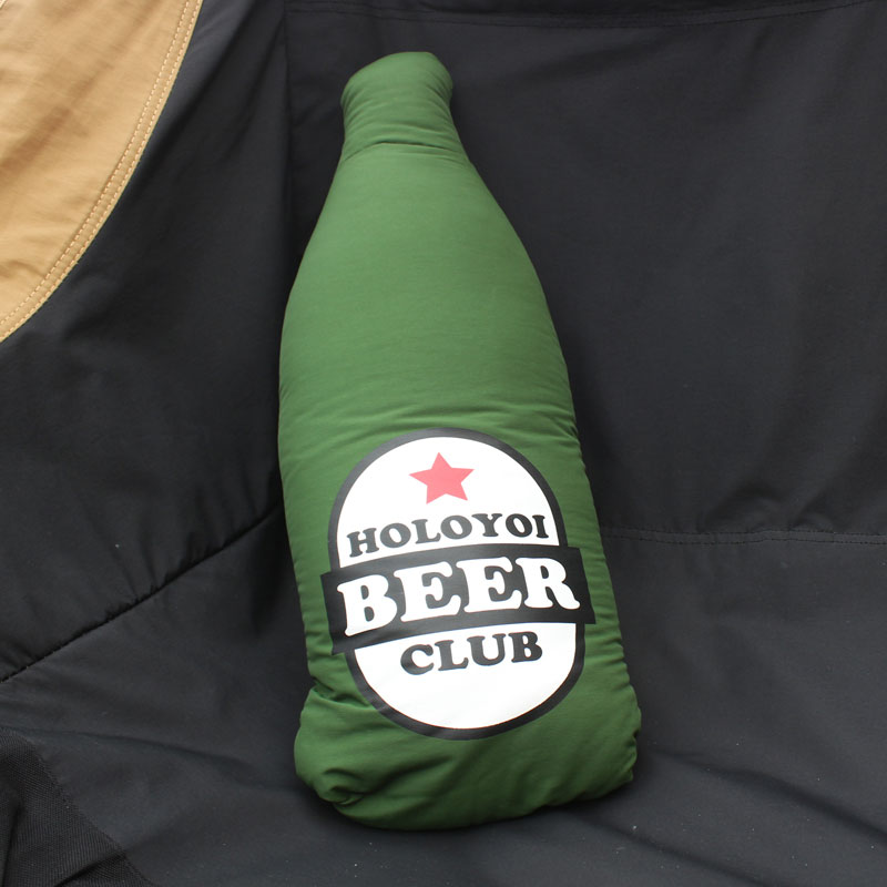 60/40 CUSHION BLANKET(BEER)(GREEN)