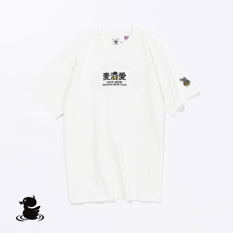 MUGISHU- AI  S/S TEE(WHITE)