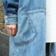 BRENDS C-GIRL SHIRT COAT(BLUE)