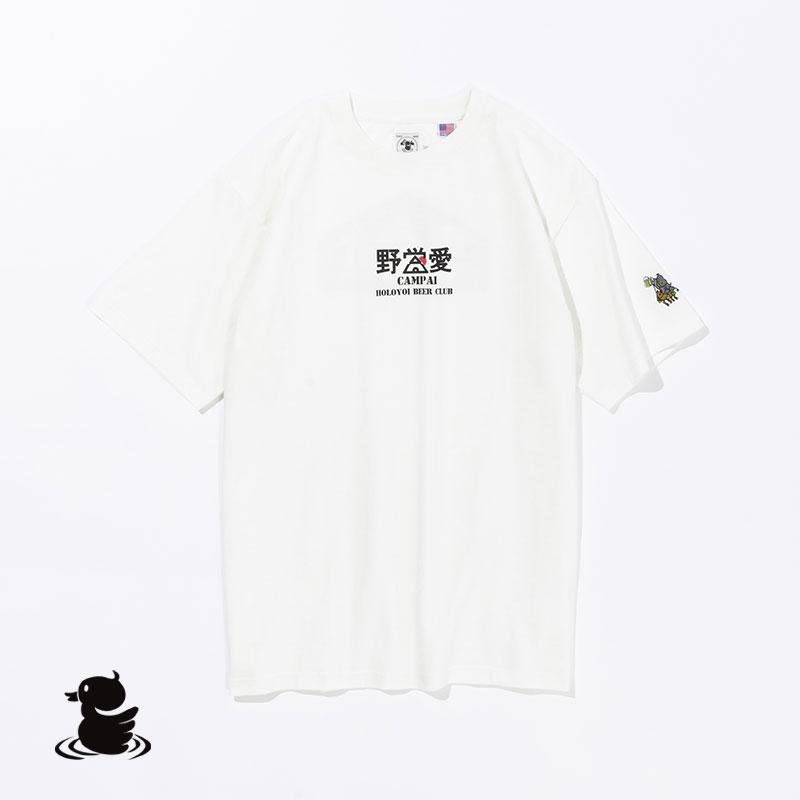 YAEI-AI S/S TEE(WHITE)