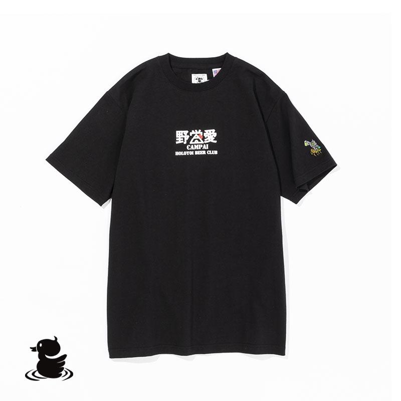 YAEI-AI S/S TEE(BLACK)