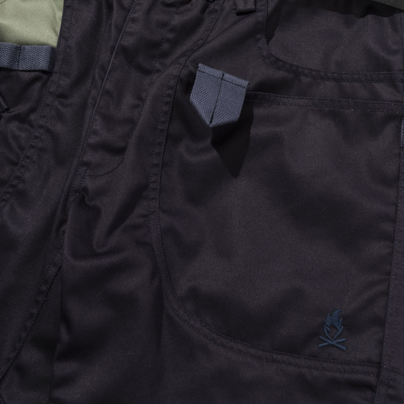 HIASOBI CAMPER PANTS(BLACK)