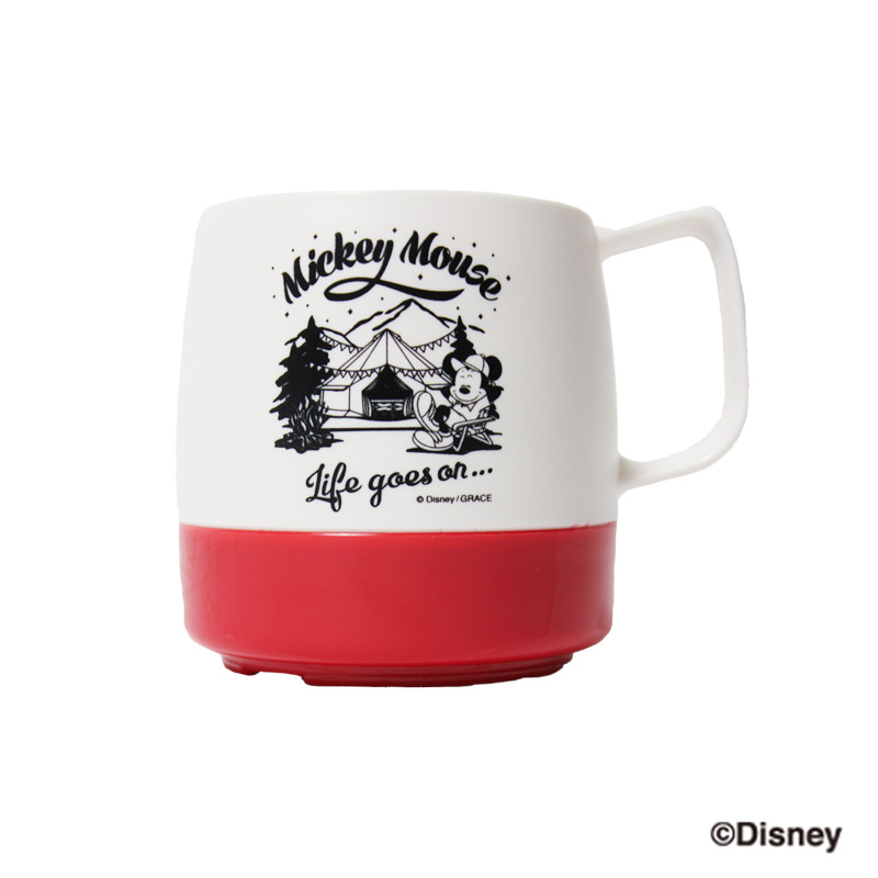 DINEX 8ozマグカップ MICKEY(RED)