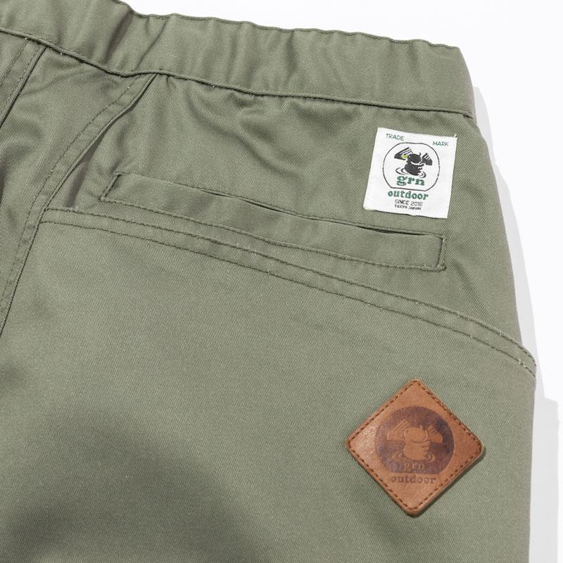 HIASOBI CAMPER PANTS(OLIVE)