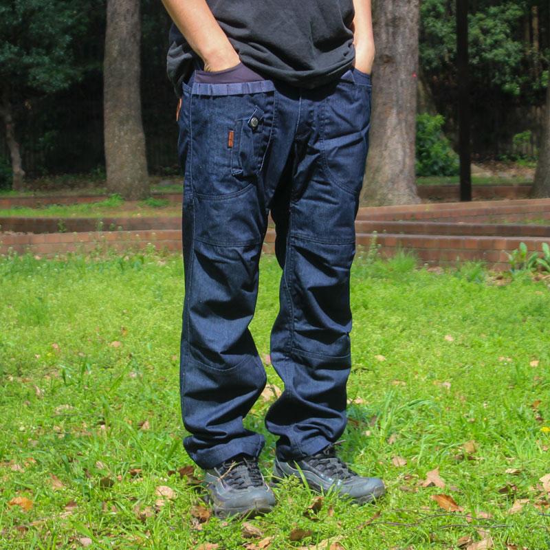 HIASOBI CAMPER PANTS(INDIGO)