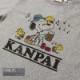 KANPAI SNOOPY S/S TEE(KIDS)(H.GRAY)