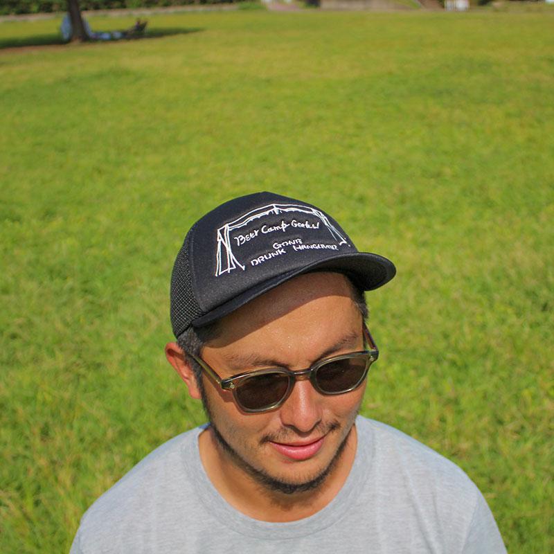 BCG MESH CAP(WHITE)