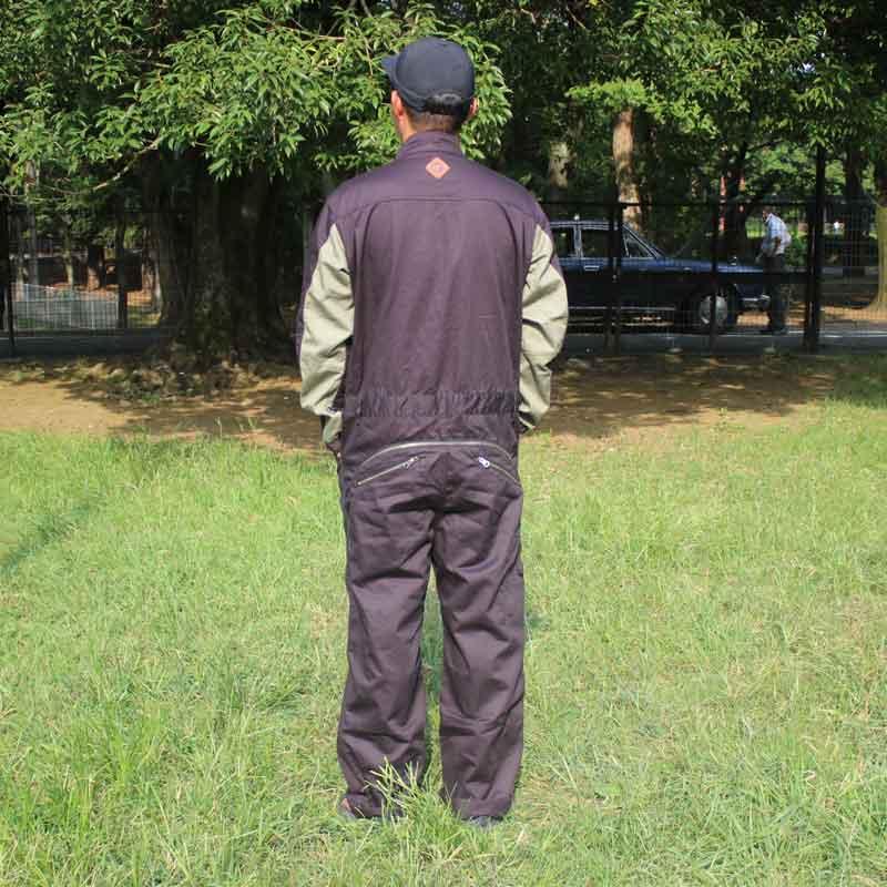 HIASOBI BIG BEN JUMP SUIT(BLACK)