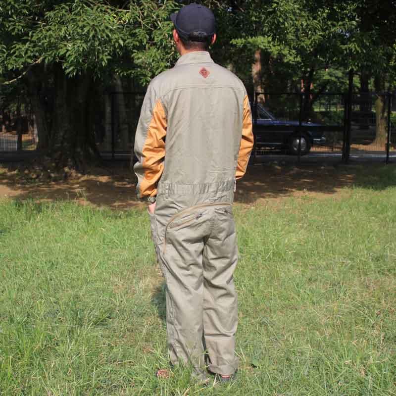 HIASOBI BIG BEN JUMP SUIT(OLIVE)