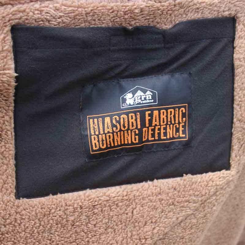 HIASOBI CAMPER BLANKET(BLACK)
