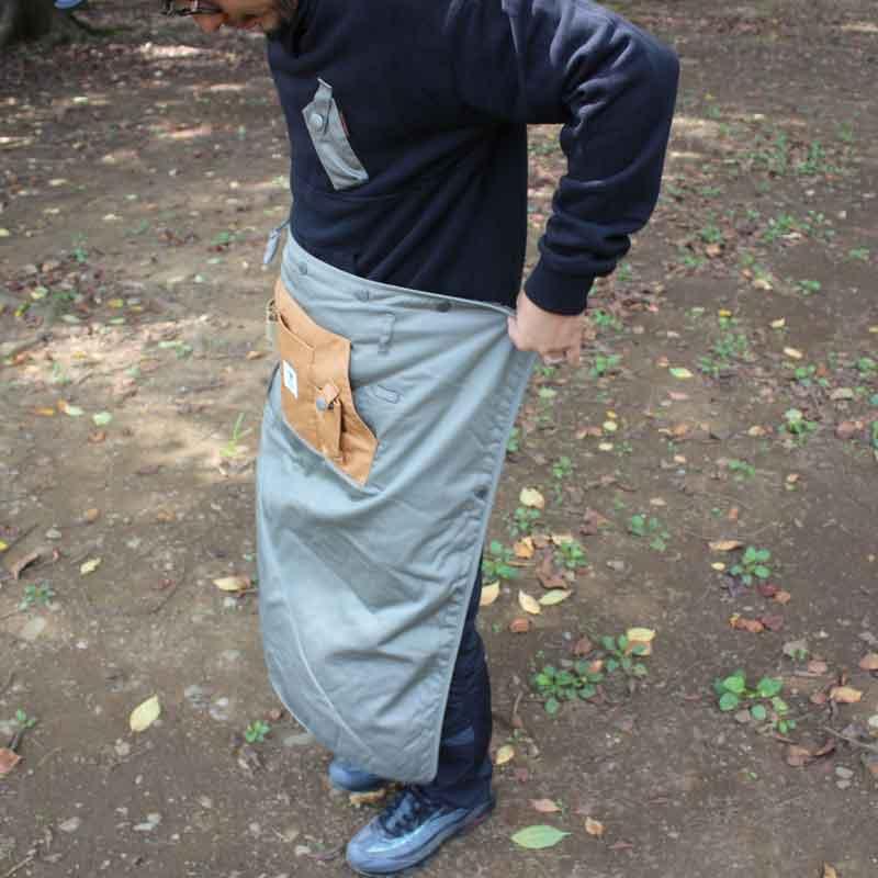 HIASOBI CAMPER BLANKET(OLIVE)