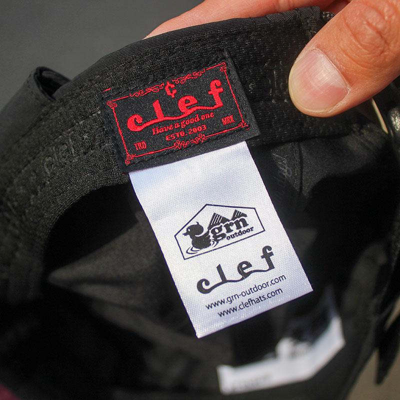 NONDA CLEF CAP(BLACK)