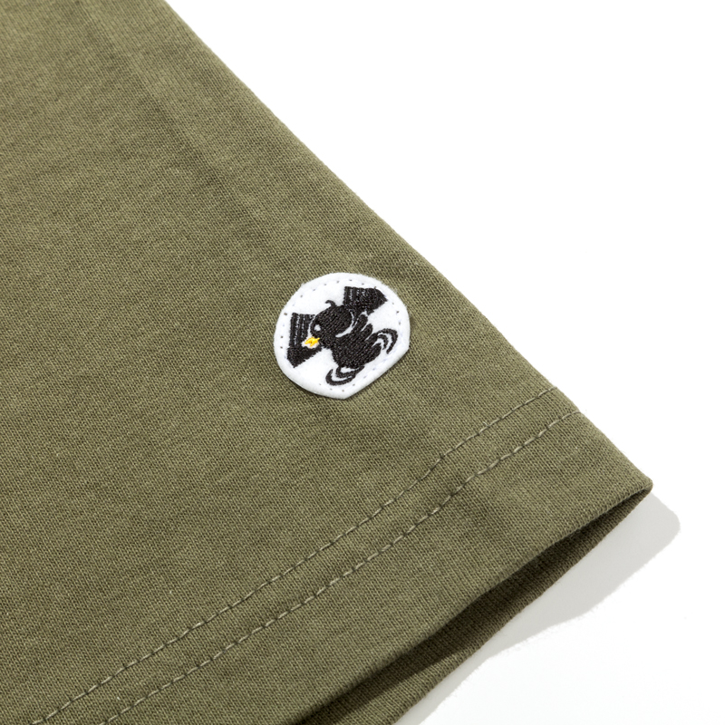 DUCK-LOW MANGA S/S TEE(OLIVE)