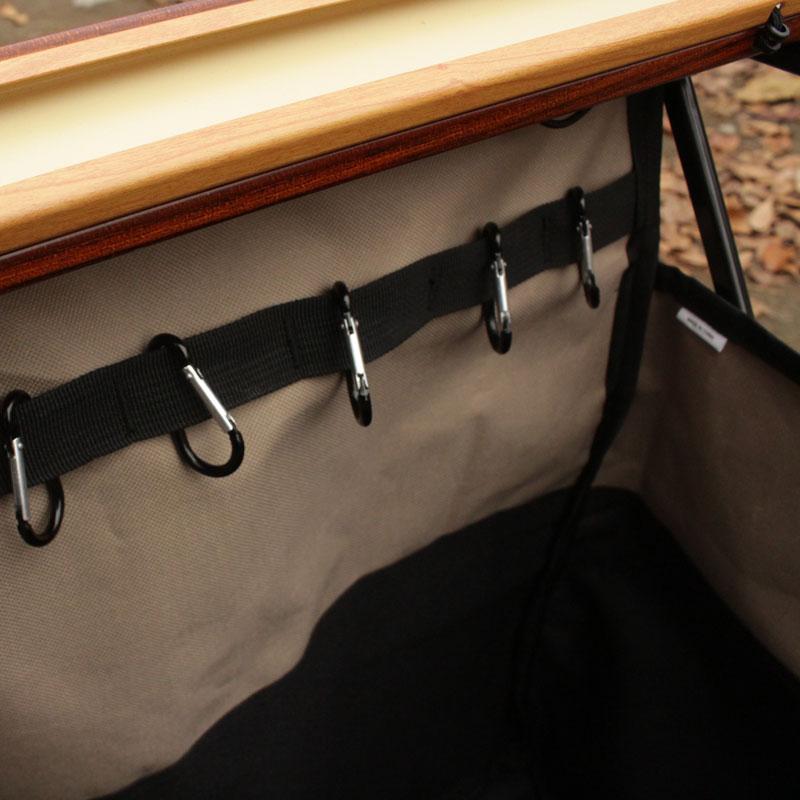 MEKAKUSHI SIDE TABLE(BLACK)