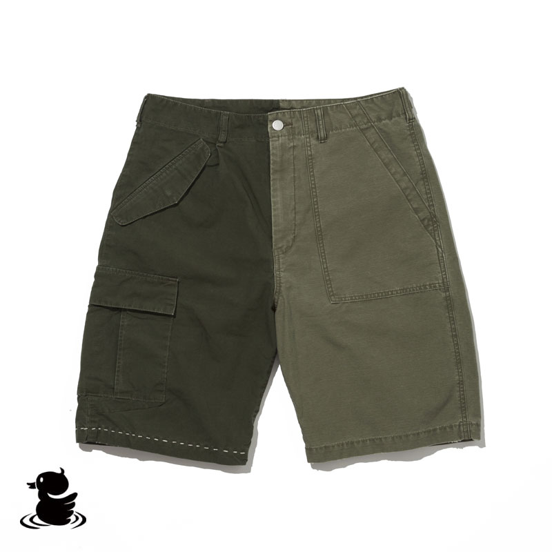 BRENDS ARMY BREND SHORTS(OLIVE)