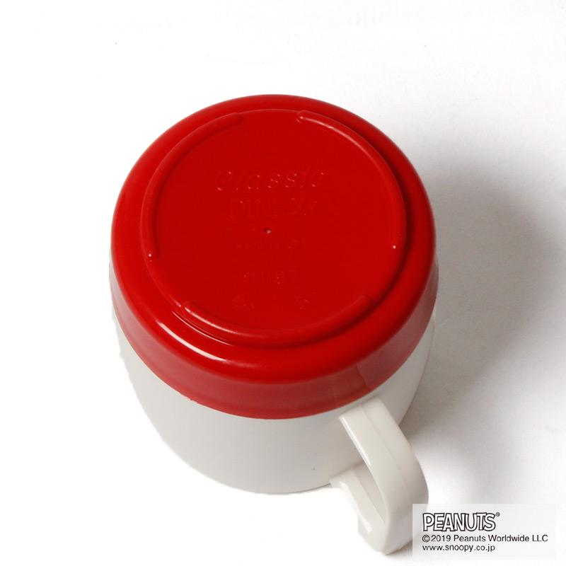 DINEX SNOOPY MUG(RED)
