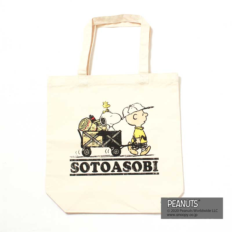 SNOOPY TOTE(SOTOASOBI)
