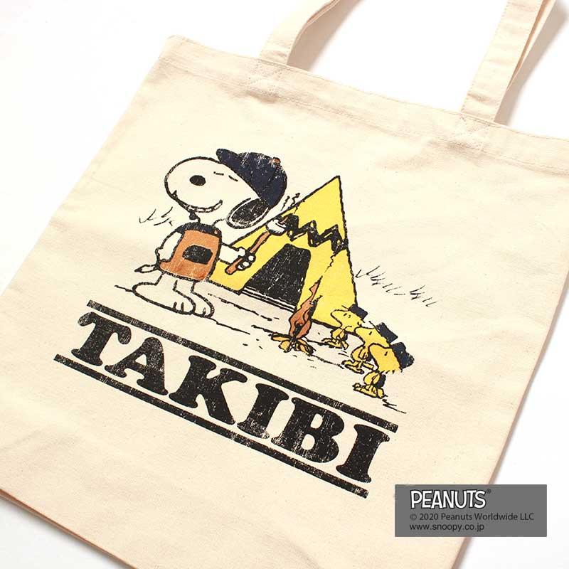 SNOOPY TOTE(TAKIBI)