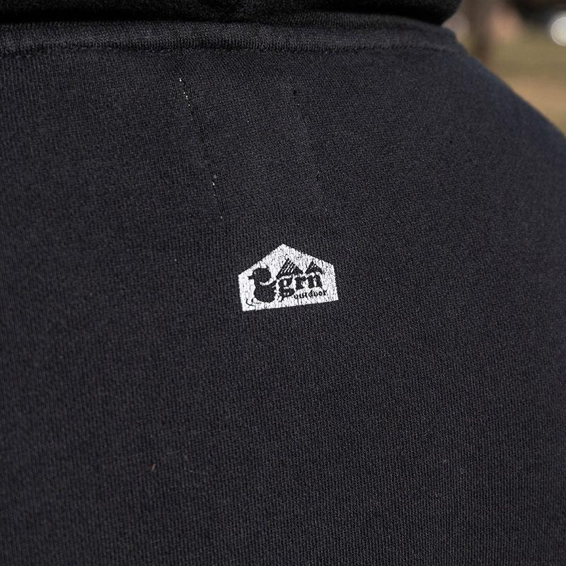 HIASOBI CAMPER BONFIRE PULL PARKA(BLACK)
