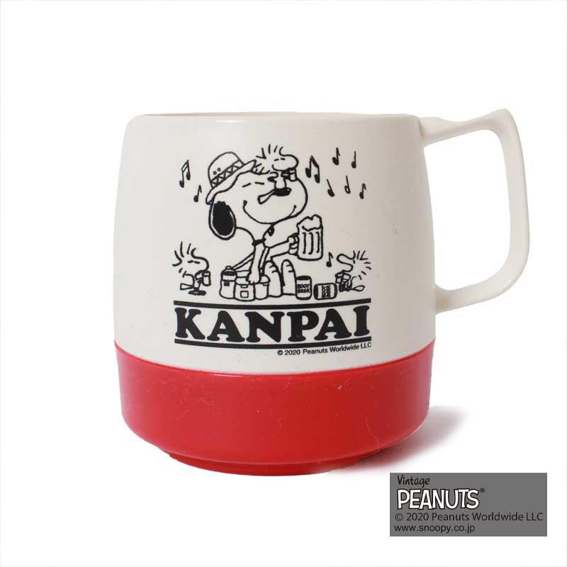 DINEX MUG SNOOPY(RED)(KANPAI)